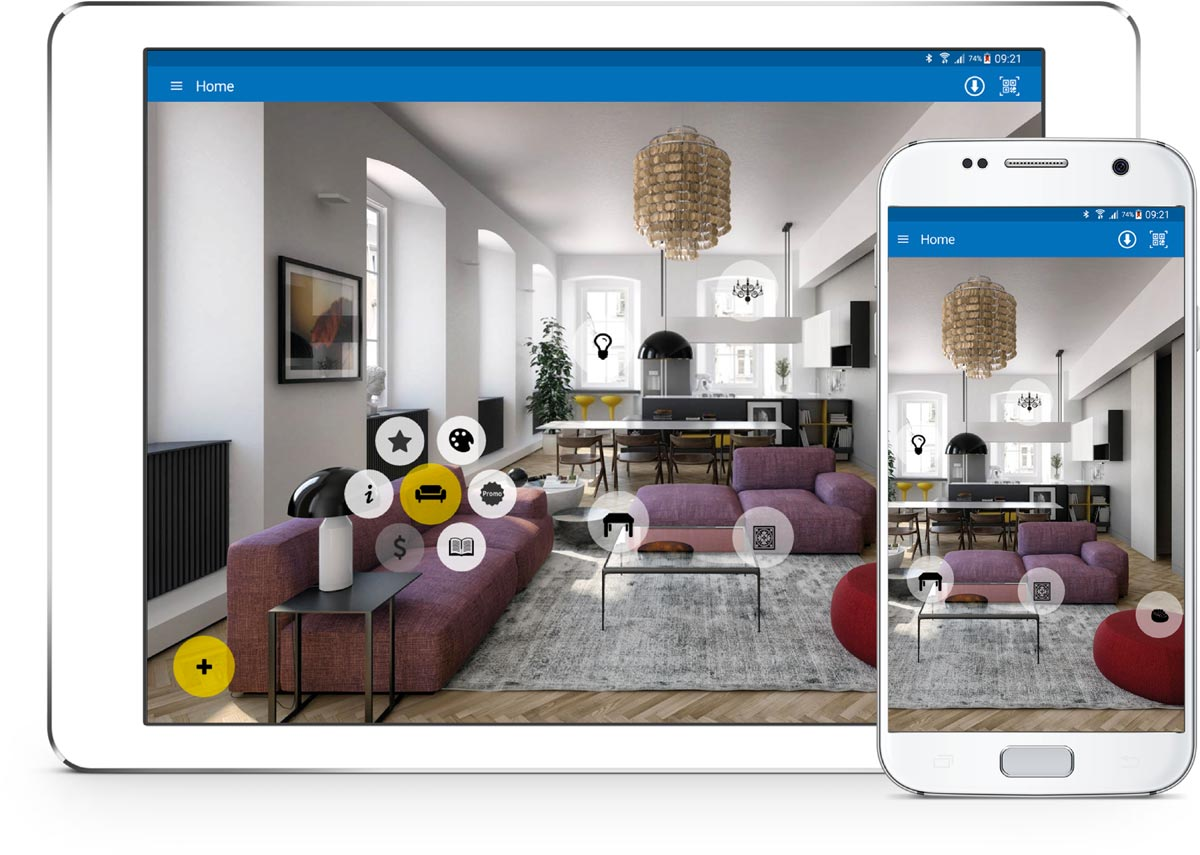 Rotas-Vision-app-arredamento-showroom-smartphone-tablet