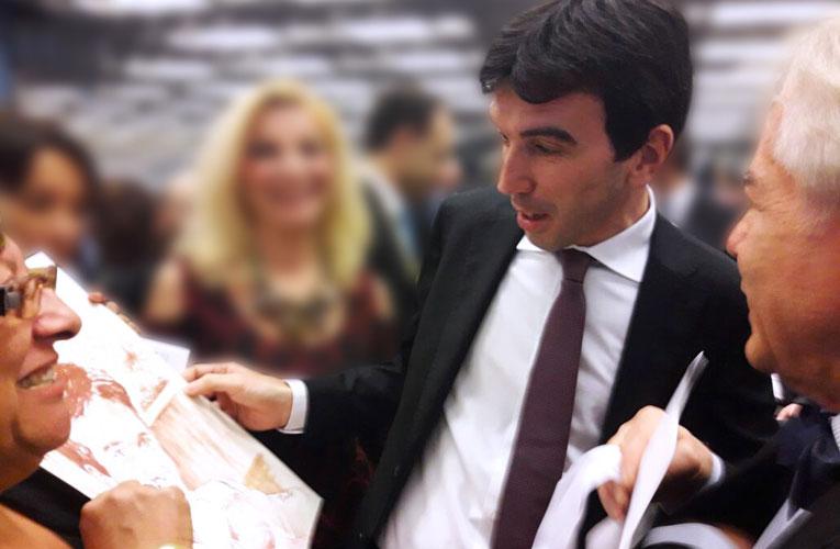 Consegna-dipinto-vino-Ministro-Martina
