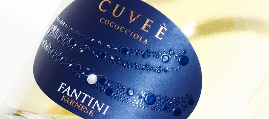 Etichette vino brillante