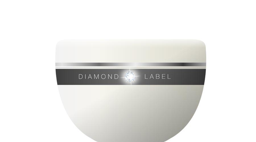 Etichette per cosmetici Diamond label