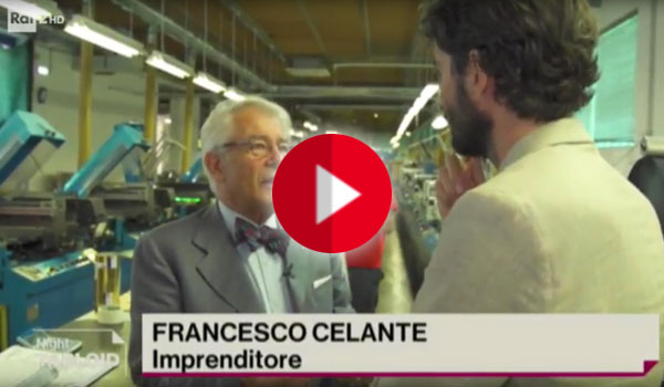 Intervista Francesco Celante Tabloid Rai2
