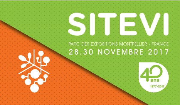 SITEVI 2017, Montpellier, Francia.