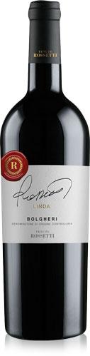 Etichette vino premiate Rossetti