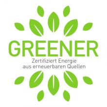 Zertifiziert Energie aus erneuerbaren Quellen